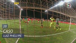 Sporting CP, Caso, Luiz Phellype aos 20'