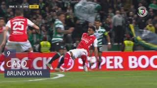 SC Braga, Caso, Bruno Viana aos 9'