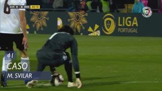SL Benfica, Caso, M. Svilar aos 41'