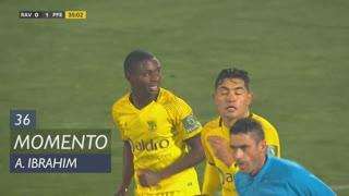 FC P.Ferreira, Jogada, A. Ibrahim aos 36'