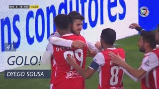 GOLO! SC Braga, Dyego Sousa aos 41', SC Braga 3-0 CD Nacional