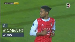 SC Braga, Jogada, Ailton aos 5'