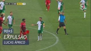 Marítimo M., Expulsão, Lucas Áfrico aos 90'+5'