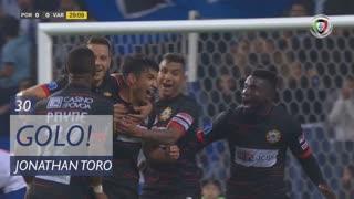 GOLO! Varzim SC, Jonathan Toro aos 30', FC Porto 0-1 Varzim SC