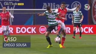 SC Braga, Caso, Dyego Sousa aos 18'