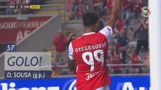 GOLO! SC Braga, Dyego Sousa aos 57', SC Braga 1-1 CD Tondela