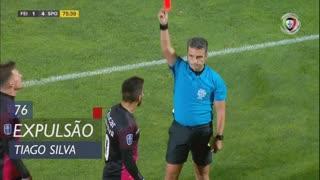 CD Feirense, Expulsão, Tiago Silva aos 76'