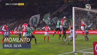 SC Braga, Jogada, Raúl Silva aos 75'
