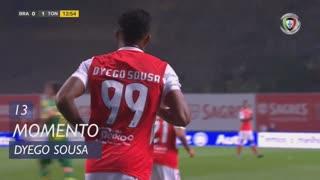 SC Braga, Jogada, Dyego Sousa aos 13'
