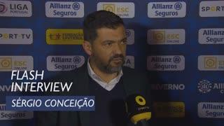 Taça da Liga (Meias-Finais): Flash interview Sérgio Conceição