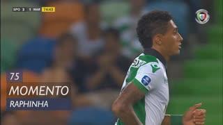 Sporting CP, Jogada, Raphinha aos 75'