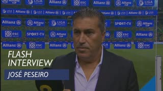 Taça da Liga (Fase de Grupos): Flash interview José Peseiro