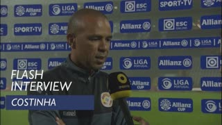 Taça da Liga (Fase 2): Flash interview Costinha