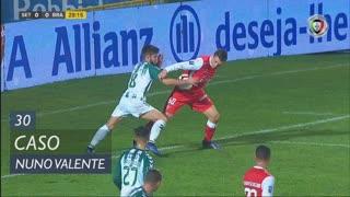 Vitória FC, Caso, Nuno Valente aos 30'