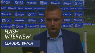Taça da Liga (Fase de Grupos): Flash interview Claúdio Braga