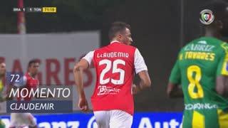 SC Braga, Jogada, Claudemir aos 72'
