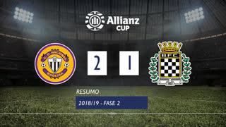 Allianz Cup (2ª Fase): Resumo CD Nacional 2-1 Boavista FC