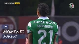Sporting CP, Jogada, Raphinha aos 19'