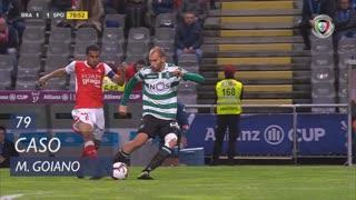 SC Braga, Caso, Marcelo Goiano aos 79'