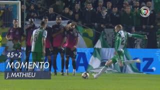 Sporting CP, Jogada, J. Mathieu aos 45'+2'