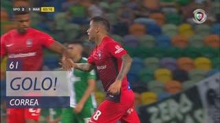 GOLO! Marítimo M., Correa aos 61', Sporting CP 2-1 Marítimo M.