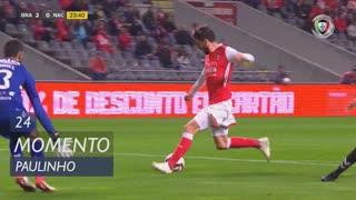 SC Braga, Jogada, Paulinho aos 24'