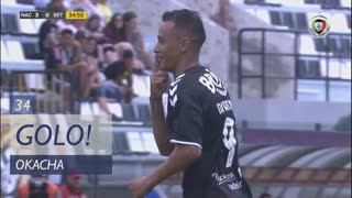 GOLO! CD Nacional, Okacha aos 34', CD Nacional 3-0 Vitória FC