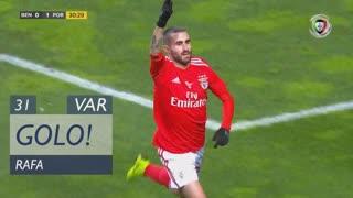 GOLO! SL Benfica, Rafa aos 31', SL Benfica 1-1 FC Porto