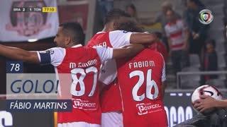 GOLO! SC Braga, Fábio Martins aos 78', SC Braga 2-1 CD Tondela