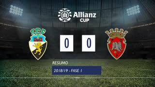 Allianz Cup (1ª Fase): Resumo SC Farense 0-0 FC Penafiel