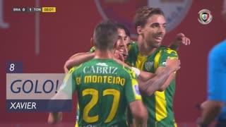 GOLO! CD Tondela, Xavier aos 8', SC Braga 0-1 CD Tondela