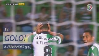 GOLO! Sporting CP, Bruno Fernandes aos 54', Sporting CP 2-0 Marítimo M.