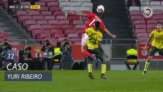 SL Benfica, Caso, Yuri Ribeiro aos 32'