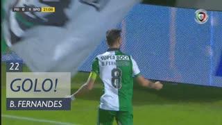 GOLO! Sporting CP, Bruno Fernandes aos 22', CD Feirense 0-2 Sporting CP
