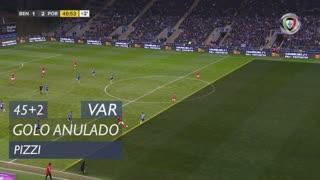 SL Benfica, Golo Anulado, Pizzi aos 45'+2'