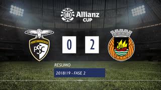 Taça da Liga (2ª Fase): Resumo Portimonense 0-2 Rio Ave FC