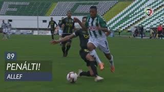Vitória FC, Penálti, Allef aos 89'