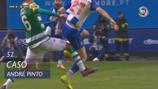 Sporting CP, Caso, André Pinto aos 52'