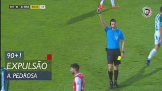 Vitória FC, Expulsão, André Pedrosa aos 90'+1'