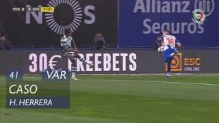FC Porto, Caso, H. Herrera aos 41'