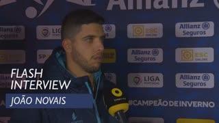 Taça da Liga (Meias-Finais): Flash interview João Novais