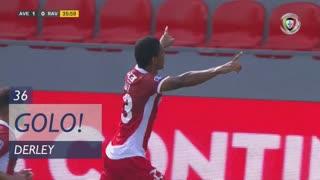 GOLO! CD Aves, Derley aos 37', CD Aves 1-0 Rio Ave FC