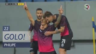 GOLO! CD Feirense, Philipe aos 22', Estoril Praia 1-1 CD Feirense