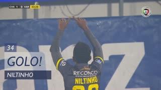 GOLO! GD Chaves, Niltinho aos 34', GD Chaves 1-0 Varzim SC