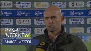 Taça da Liga (Fase de Grupos): Flash interview Marcel Keizer