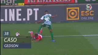 SL Benfica, Caso, Gedson aos 38'