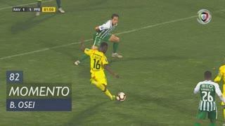 FC P.Ferreira, Jogada, B. Osei aos 82'