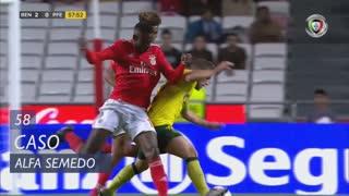 SL Benfica, Caso, Alfa Semedo aos 58'