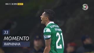 Sporting CP, Jogada, Raphinha aos 33'
