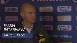 Taça da Liga (Meias-Finais): Flash interview Marcel Keizer